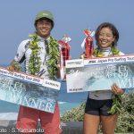 佐藤魁、須田那月がALL JAPAN PRO新島で優勝。シニアマスタープロで小川直久、小川昌男が優勝。