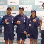 「2019 ISA ワールドサ ーフィンゲームス Presented by VANS」日本代表選手記者会見が行われた。