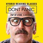 新感覚の老眼鏡ブランドDONT PANICが神南坂JOURNAL STANDARDにてポップアップストアを開催