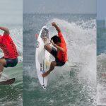 五十嵐カノア、村上舜、大原洋人、日本男子全員がトップでR3進出。 ISA ワールドサ ーフィンゲームス