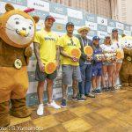 明日開幕する「2019 ISAワールドサーフィンゲームス Presented by VANS」 大会前日公式記者会見
