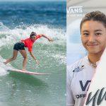 松田詩野がアジア大陸の最高位となり、オリンピックの1枠を確保。ISAワールドサーフィンゲームス