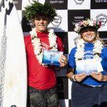 ブロディ・セール(HAW)とキラ・ピンカートン(USA)がサンセット・プロ・ジュニアで優勝。
