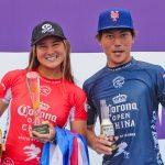村上舜とブリーサ・ヘネシーが優勝。黒川日菜子と野中美波が3位入賞。QS5000「コロナ・オープン・チャイナ」