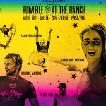 カノア、ケリー、コロヘ、フィリーペら男女16名の混合ダブルスによる試合がサーフランチで8月9日開催