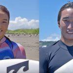 松田詩野、安室丈インタビュー。2020.8.2 東京オリンピック・サーフィン競技最終日のはずだったセッション