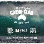 オーストラリアのビッグネームが勢揃い。WSLオーストラリアン・グランドスラム・オブ・サーフィンのウエイティング期間が開始