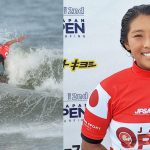 「第2回ジャパンオープンオブサーフィン」大会初日が終了。前田マヒナが大会初日の最高得点をマーク