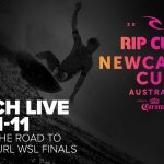 4月1日から開催の「リップカール・ニューカッスルカップ」でWSL-CTが復活。五十嵐カノアは第1ヒートに登場
