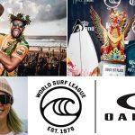 五十嵐カノアや都筑有夢路をサポートする「オークリー」がWORLD SURF LEAGUEとのパートナーシップを締結