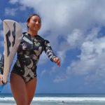 テレビ朝日「GET SPORTS」 に出演する松田詩野のハワイでのドローン映像が公開。