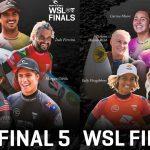 WSL-CT第8戦「タヒチプロ」の中止が急遽決まり、世界チャンピオン決定戦を戦う男女トップ5が決定。