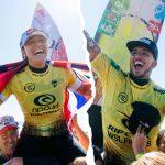 カリッサ・ムーアとガブリエル・メディーナがリップカールWSLファイナルで優勝して世界タイトルを獲得。